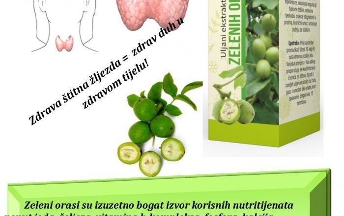 zeleni oraščići